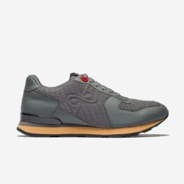 Lace-Up Suede Sneakers Grey - Top Sneakers - OPP Official Store (OPP France)