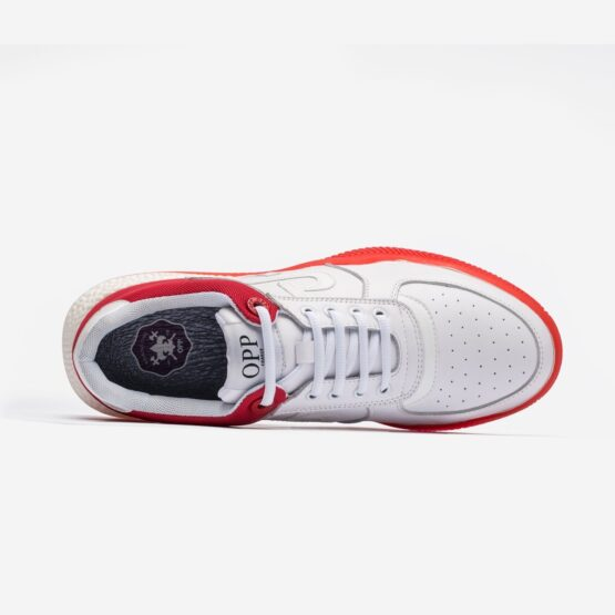 Lace-Up Sneakers White - Top Sneakers - OPP Official Store (OPP France)